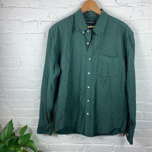 J. Crew Factory Button-Down Shirt Long Sleeve SZ L